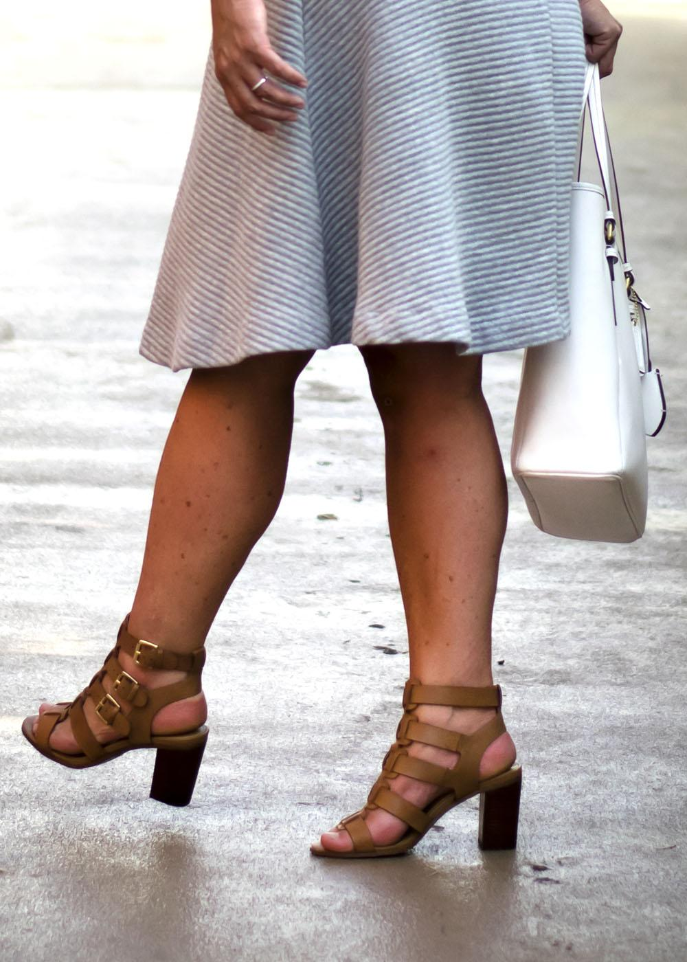 Work Outfit Los Angeles Fashion Street Style Blogger Personal Stylist Steve Madden Ninna Chunk Heel Sandal