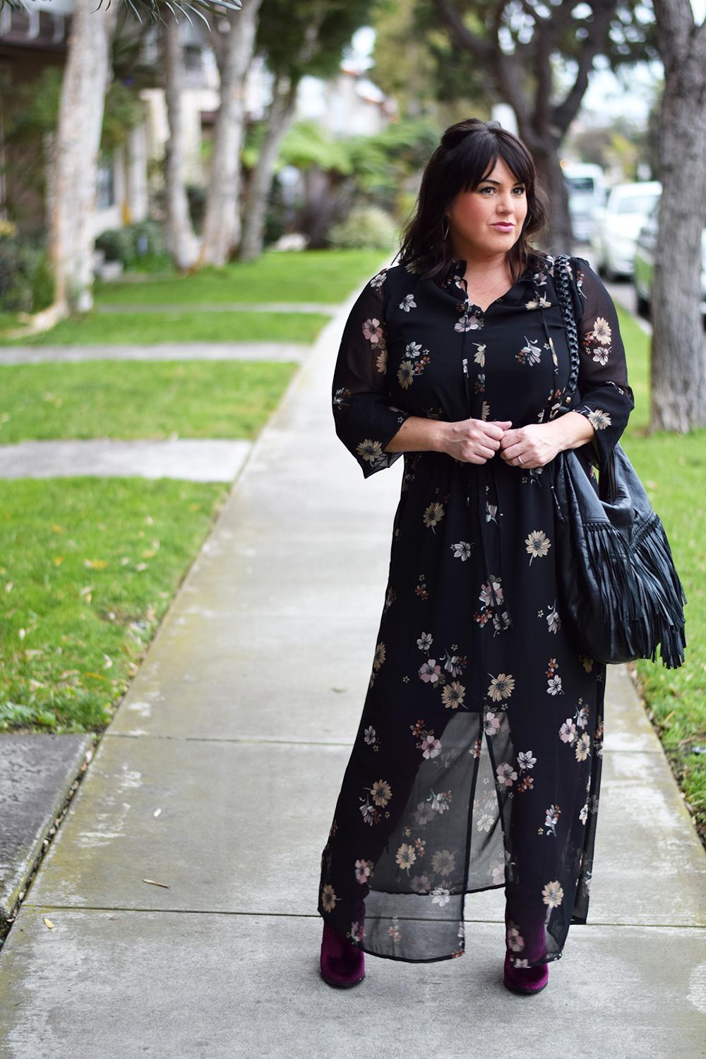 How-to-Wear-a-Floral-Maxi-Midi-Dress-in-Winter-Outfit-Barefoot-in-LA-Fashion-Blog-Style-Ideas-0106