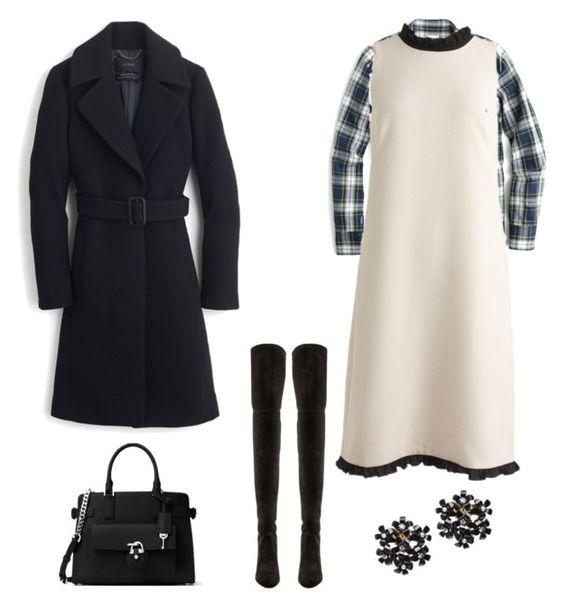 how-to-style-a-winter-white-dress-4-ways-j-crew-ruffle-trim-shift-dress-barefoot-in-la-fashion-blog-ideas-weekend-outfit