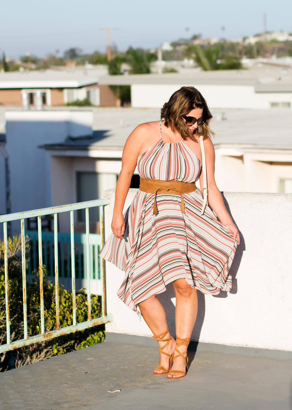 Casual Outfit Los Angeles Fashion Street Style Blogger Personal Stylist Steve Madden Rizzaa Wrap Sandal 0502