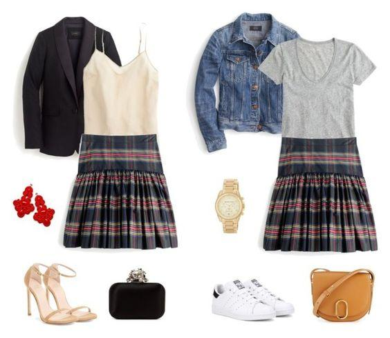 plaid-skirt-three-ways-barefoot-in-la-fashion-blog-j-crew-plaid-skirt