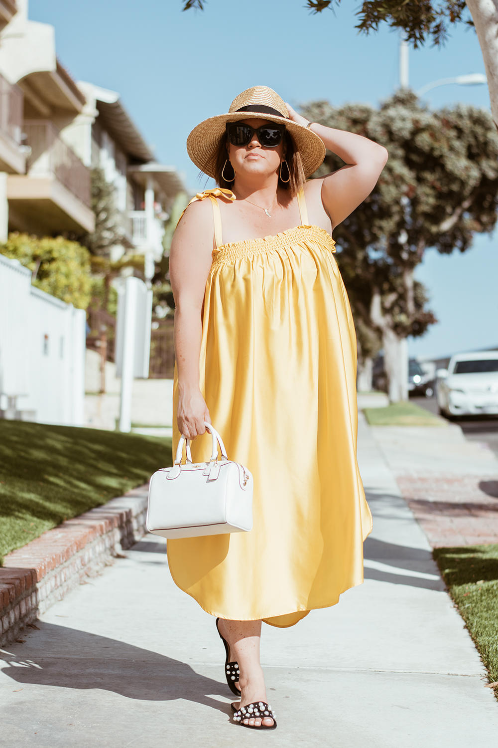 The Best Yellow Dresses for Summer The Biggest Trends for 2018 Barefoot in LA Fashion Blog Style Ideas Outfits 0071