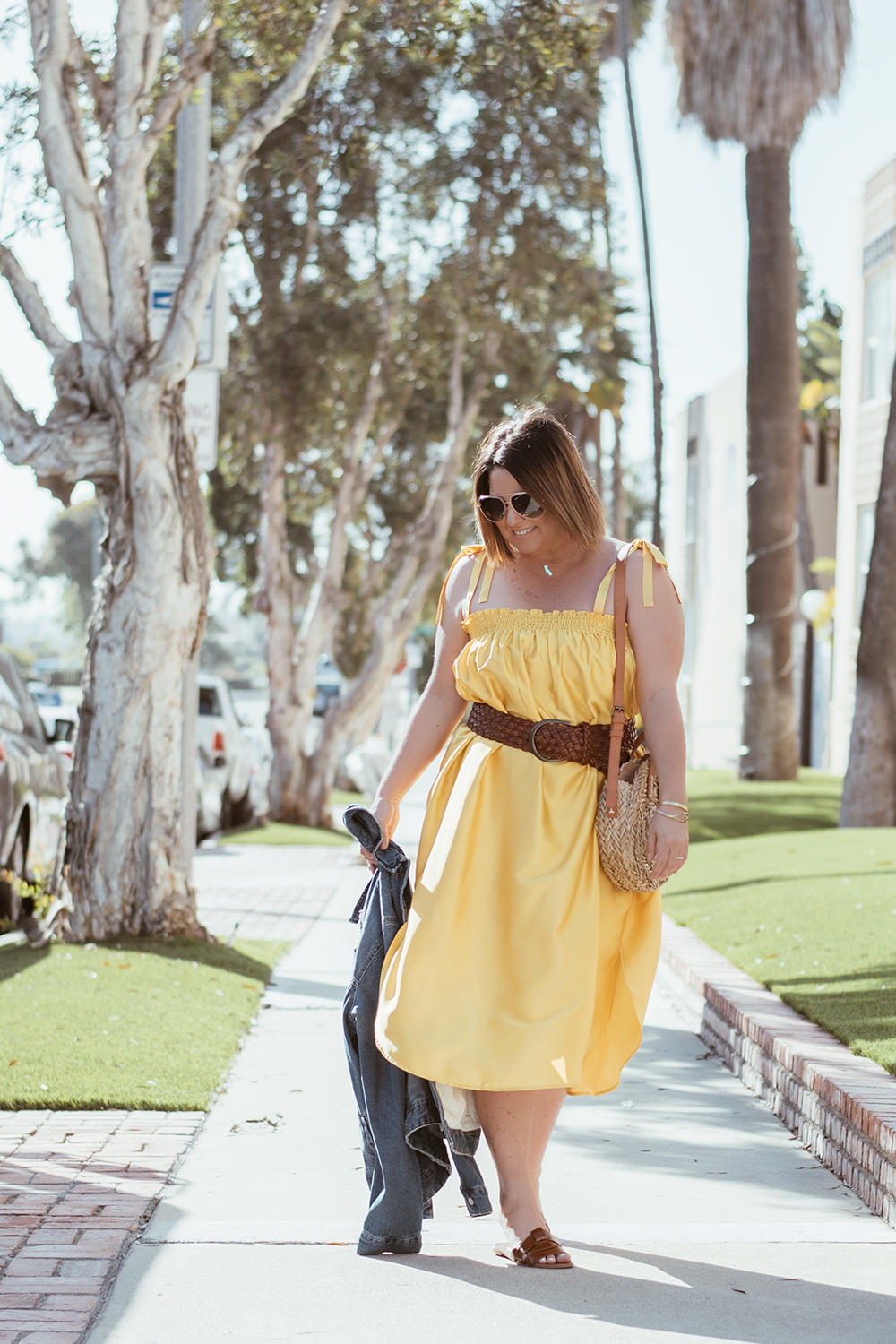 The Best Yellow Dresses for Summer The Biggest Trends for 2018 Barefoot in LA Fashion Blog Style Ideas Outfits 0175