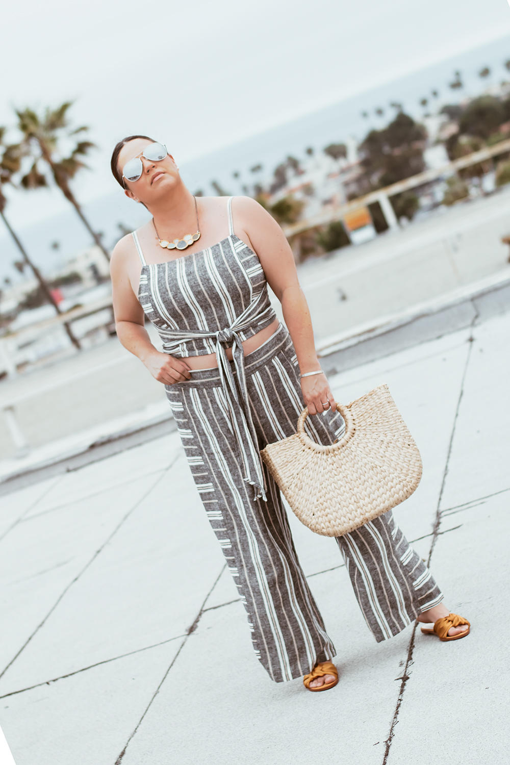 Striped Matching Set The Biggest Trends for 2018 Barefoot in LA Fashion Blog Style Ideas Outfits 0007