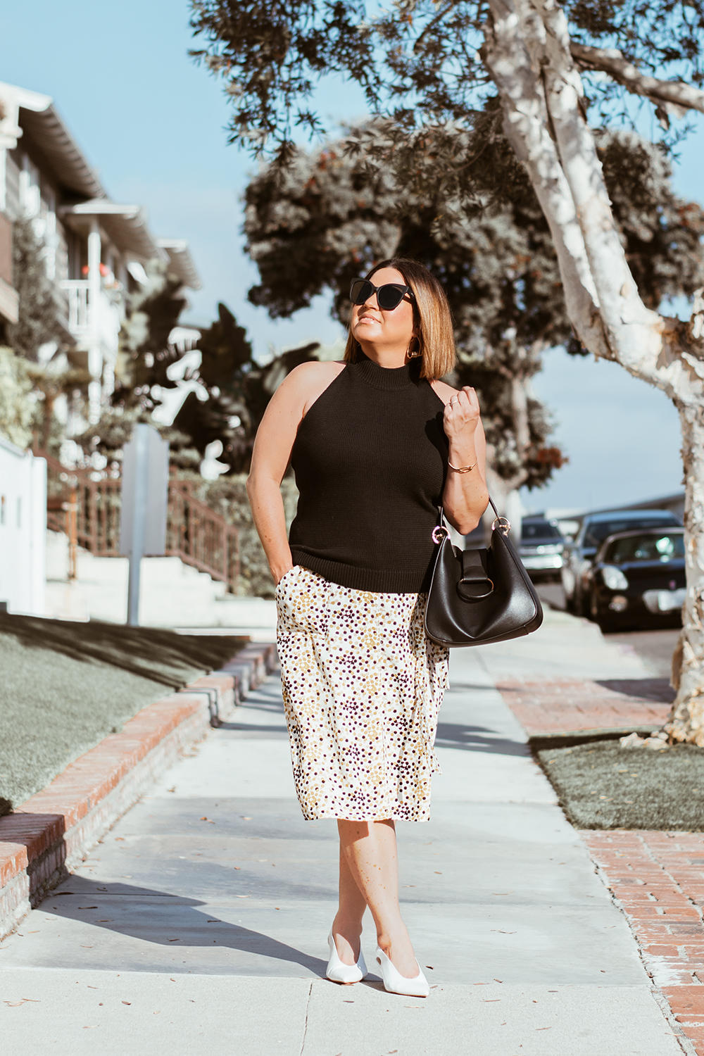 Vintage Print Skirt Target The Biggest Trends for 2018 Barefoot in LA Fashion Blog Style Ideas Outfits 0027