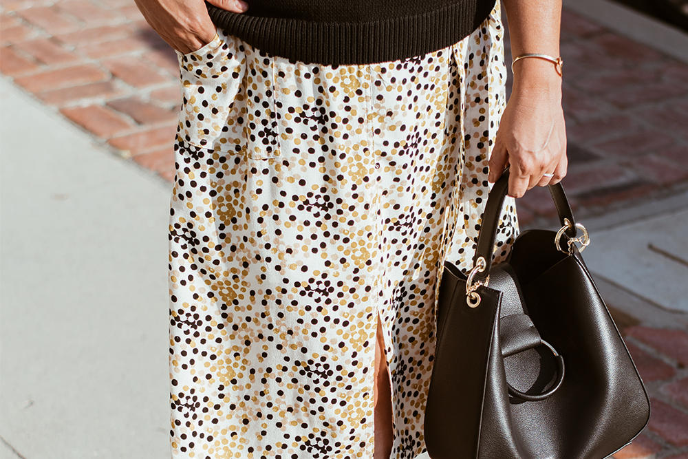Vintage Print Skirt Target The Biggest Trends for 2018 Barefoot in LA Fashion Blog Style Ideas Outfits 0153
